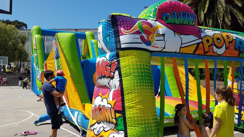 Entrada Hinchable Wipe Out