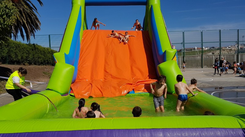 piscina Hinchable Wipe Out